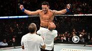 Former lightweight champion Rafael Dos Anjos has found new life at 170 pounds after beginning 2-0 in his new division. He's eyeing a 2nd title belt for his collection & next on his hit list on the way to the belt is former welterweight king Robbie Lawler.