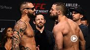 Rising welterweight contenders Santiago Ponzinibbio and Mike Perry meet in an explosive striker's delight matchup in Winnipeg. Both fighters are planning to knock out the other and this one if going to be a fight filled with fireworks.