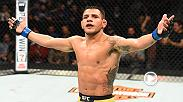 Former lightweight champion Rafael Dos Anjos improved to a perfect 3-0 since moving to welterweight after a convincing unanimous decision win over former 170-pound champ Robbie Lawler. He spoke about the win in the Octagon in Winnipeg.
