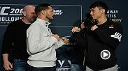 At UFC 206 Dooho Choi and Cub Swanson put on a show for the Toronto crowd, and many considered their three round battle to be the fight of the year in 2016. Choi next faces Jeremy Stephens in the main event of Fight Night St. Louis on January 14.