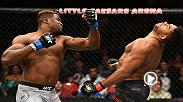 Francis Ngannou climbed up the UFC heavyweight ranks quickly capped of with the knockout of the year of Alistair Overeem at UFC 218. Heavyweight champion Stipe Miocic is the last hurdle for Ngannou at UFC 220 on Saturday, January 20 live on PPV.