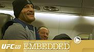 On episode 3 of UFC 220 Embedded, Daniel Cormier, Volkan Oezdemir, Stipe Miocic and Francis Ngannou continue their title bout preparations and obligations for UFC 220 on Saturday, January 20th on Pay-Per-View.