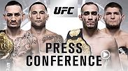 Ahead of the UFC 222 and UFC 223 main events, UFC will host a press conference with the four athletes on Friday, January 19 at 5p.m. ET at the TD Garden in Boston, MA.