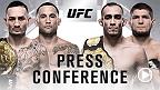 UFC 25th Anniversary Series: Conferencia de Prensa