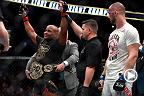 Watch Daniel Cormier in the Octagon after his victory over Volkan Oezdemir at UFC 220.