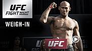 Watch the UFC Fight Night Charlotte Official Weigh-in on Friday, January 26 at 6pm/3pm ETPT.