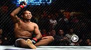 Hear from Jacare Souza from the Octagon following his dramatic TKO victory over Derek Brunson in the main event of Fight Night Charlotte.