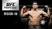 Watch the UFC Fight Night Belem Official Weigh-in on Friday, February 2 at 5pm/2pm ETPT.