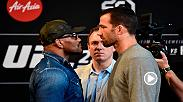 Ahead of their historic meeting at UFC 221, Luke Rockhold and Yoel Romero square off at the pre-fight press conference. Order UFC 221 now at: https://www.ufc.tv/video/ufc-221