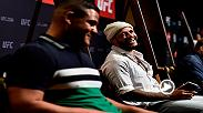Australian natives and UFC 221 fighters Tai Tuivasa and Tyson Pedro discuss fighting in their home country and much more during UFC 221 Media Day.