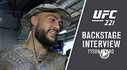 Go backstage at UFC 221 with light heavyweight Tyson Pedro after his submission victory in Perth, Australia. Pedro talks to UFC correspondent Megan Olivi about the huge win.