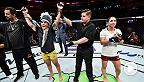 UFC strawweight Jessica Andrade took out a game Tecia Torres in the Fight Night Orlando co-main event with a decisive decision win. Andrade spoke about the performance inside the Octagon after the bout.