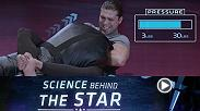 Featherweight Brian Ortega visits the UFC Performance Institute to measure the force applied by two of his signature chokes.