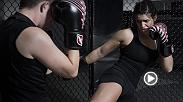 UFC strawweight Mackenzie Dern is set for her UFC debut at UFC 222 as the featured bout of the FS1 prelims. Dern is a Brazilian jiu jitsu legend and she's hoping to bring her skills into the Octagon as she chases a title.