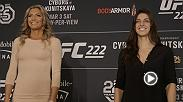 Brazilian jiu-jitsu phenom and undefeated UFC newcomer Mackenzie Dern is confident that she is ready for the Octagon. Watch her debut this Saturday in the featured bout of the FS1 prelims at UFC 222: Cyborg vs Kunitskaya on Pay-Per-View.