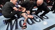 Watch Sean O'Malley in the Octagon after his electric victory over Andre Soukhamthath at UFC 222.