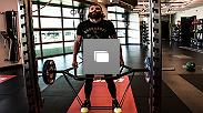 Doing part of his fight camp for UFC 223 next April 7 at the UFC Performance Institute, Michael Chiesa adds power and explosiveness to his game.
