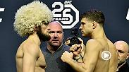 UFC commentators Jimmy Smith and Daniel Cormier break down and preview the UFC lightweight championship main event between Khabib Nurmagomedov and Al Iaquinta at UFC 223 in Brooklyn, New York on Pay Per View.