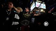 Hear from Khabib Nurmagomedov from the Octagon following his big win at UFC 223 over Al Iaquinta.