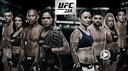 UFC 224 is stacked with the women's bantamweight title on the line in the main event between Amanda Nunes vs Raquel Pennington, plus Jacare vs Gastelum, Dern vs Cooper and Belfort vs Machida.
