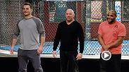 Coaches Stipe Miocic and Daniel Cormier and the cast of undefeated fighters are ready to put on a show on Season 27 of The Ultimate Fighter.