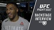 Kevin Lee discusses his big win over Edson Barboza in the main event of Fight Night Atlantic City on April 21, 2018.