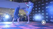 Check out the highlights from the UFC 224 open workouts in Rio de Janeiro, Brazil.