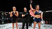 Tatiana Suarez remained undefeated after finishing Alexa Grasso with a rear naked choke in the first round of her bout on UFC Fight Night Chile on FS1. Watch Suarez's Octagon interview where she discusses the performance and requests a top 10 showdown.