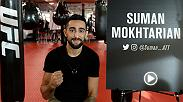 Suman is the brother of UFC flyweight Ashkan Mokhtarian and boyfriend of UFC strawweight Nadia Kassem, but he's excited for the opportunity to make his own name in the promotion. TUF: Undefeated airs Wednesdays at 10pm ET on FS1.