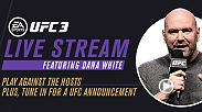 On May 22, tune in to watch as UFC President Dana White and YouTube sensation KSI invite players to challenge them in EA SPORTS UFC 3. Don't miss out on the #BeatTheBoss live stream.