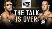 The co-main event at UFC 225 in Chicago features an interim welterweight title fight between former lightweight champion Rafael Dos Anjos and Colby Covington.