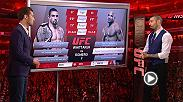 John Gooden and Dan Hardy give you a full breakdown of the middle interim title matchup going down Saturday at UFC 225 between Robert Whittaker and Yoel Romero. Order the huge card now at: http://www.ufc.com/ppv