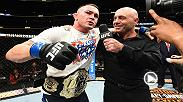 Hear from interim welterweight champ Colby Covington from the Octagon following his victory over Rafael dos Anjos at UFC 225 in Chicago.