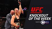 In honor of the announcement that Ronda Rousey will be inducted into the UFC Hall of Fame this July we take a look back at the soon to be Hall of Famer's knockout of Bethe Correia at UFC 190 in 2015.