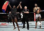 Watch Ovince Saint Preux in the Octagon after his win over Tyson Pedro at Fight Night Singapore.