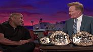 UFC Light Heavyweight and UFC Heavyweight Champion Daniel Cormier visited the CONAN show to talk about becoming a rare double champ after UFC 226, and breaking the curse of fighters who lose after visiting with Conan O'Brien.
