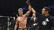 "Sage Northcutt after his UFC Boise KO victory: ""Words are powerful. I think that we all gotta have respect for each other and that we could all be more careful with the things we say."""