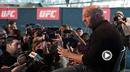 Watch Dana White discuss Fight Night Calgary and more after Friday's official weigh-in.