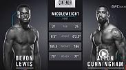 The second time's the charm as Bevon Lewis wins his second fight in Dana White's Tuesday Night Contender Series to earn a UFC contract.
