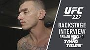 Hear from Renato Moicano after his victory over Cub Swanson at UFC 227.