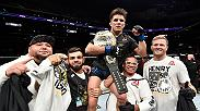 Hear from Henry Cejudo after defeating Demetrious Johnson to become the UFC flyweight champion and hear from the former champ.