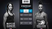 Only 20 years old, Maycee Barber earned a UFC contract on Week 5 of Dana White's Tuesday Night Contender Series. Don't miss her UFC debut and Fight Night Denver in November.