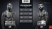The second a submission opportunity opened up for Jordan Griffin the fight was over as he earned a UFC contract on Week 7 of Dana White's Tuesday Night Contender Series.