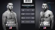 Bobby Moffett secured his second straight victory via D'arce Choke as well as a UFC contract Week 8 of Dana White's Tuesday Night Contender Series.