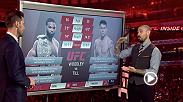 UFC commentators Dan Hardy and John Gooden preview the welterweight matchup between Tyron Woodley and Darren Till as the two are set to meet in the main event at UFC 228 Saturday.
