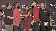 Check out the faceoffs from UFC 228 Ultimate Media Day before the action Saturday September 8th live on Pay Per View.