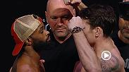 Watch welterweight challenger Darren Till face off with welterweight champion Tryon Woodley at the UFC 228 Weigh Ins. Tune in live on Pay Per View tomorrow to see who will leave Dallas with the belt.