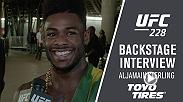 After his impressive knee bar victory at UFC 228, Aljamain Sterling discusses the performance, Dominick Cruz and what's next for him.