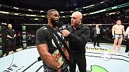 Undisputed welterweight champion Tyron Woodley, as well as Darren Till, meet with Joe Rogan in the Octagon after their main event title fight at UFC 228: Woodley vs Till.