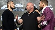 Watch the highlights from the UFC 229 Press Conference, featuring Khabib Nurmagomedov and Conor McGregor from Radio City Music Hall.